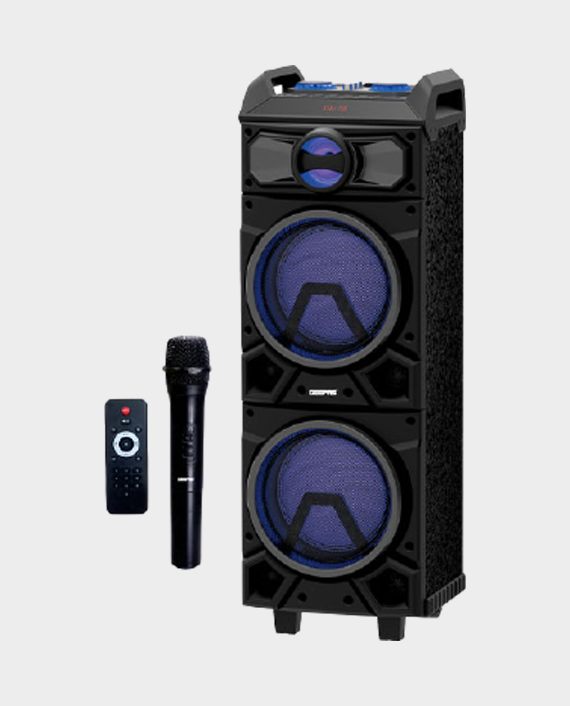 Geepas GMS11137 Rechargeable Trolley Speaker in Qatar