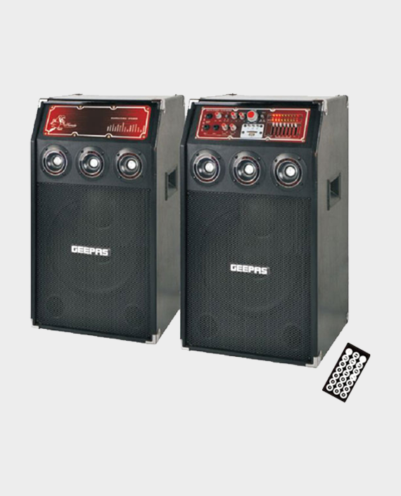 Geepas GMS7492N 2.0 Multimedia Speaker with Mic in Qatar