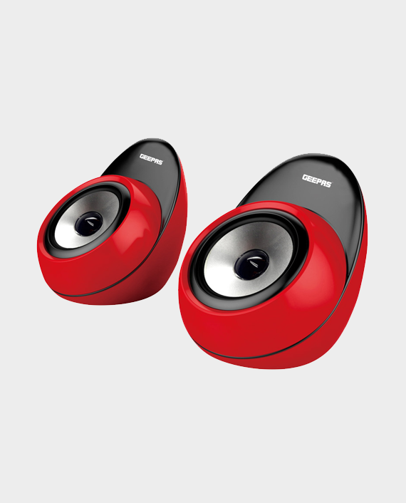 Geepas GMS8492 Multimedia Speakers with USB SD Card Reader