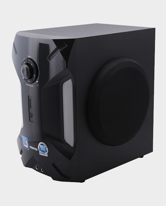 Geepas GMS8507 2.1 Channel Multimedia Speaker System with Bluetooth