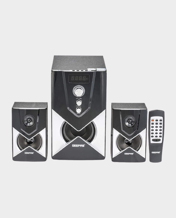 Geepas GMS8515 2.1 Channel Multimedia Speaker with Bluetooth in Qatar