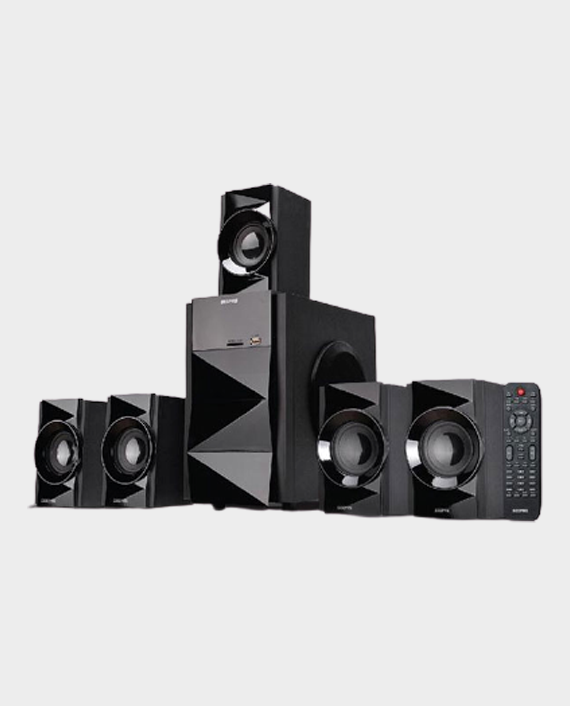 Geepas GMS8527 5.1 Channel Multimedia Speaker with Bluetooth Black in Qatar