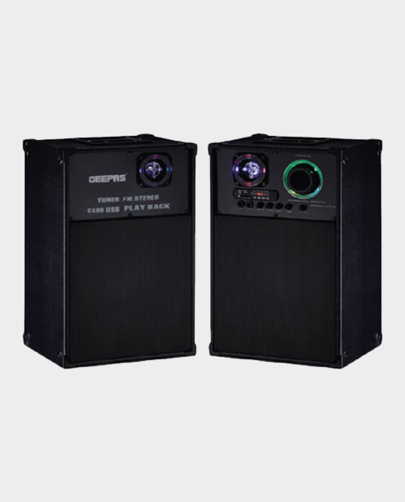Geepas GMS8539 2.0CH Professional Speaker System Black in Qatar
