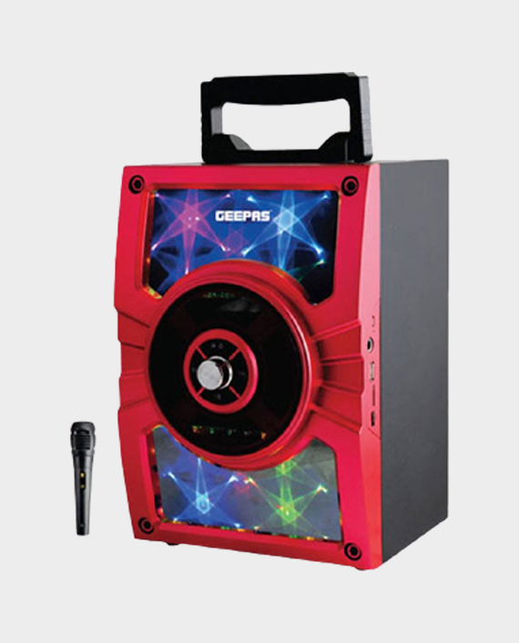 Geepas GMS8588 Portable & Rechargeable Speaker System in Qatar