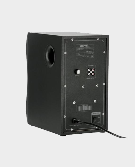 Geepas GMS8597 2.1 Multimedia Speaker System with Bluetooth