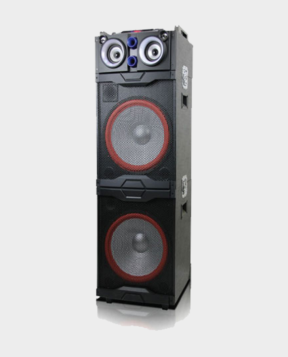 Geepas GMS8598 Double 15 inch Professional Speaker System in Qatar