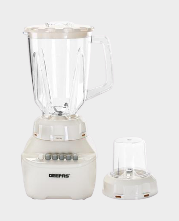 Geepas GSB5362 2 in 1 Super Powerful Blender with 4 Speed Setting in Qatar