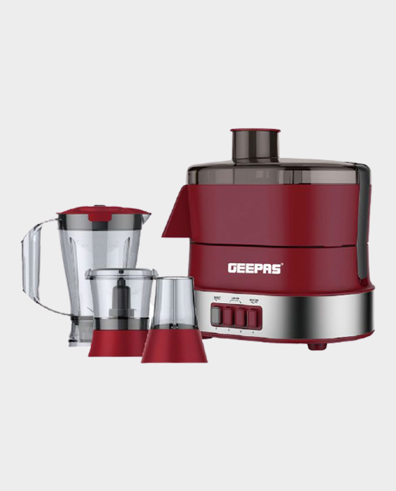 Geepas GSB9990 4 in 1 Food Processor - Red/Grey in Qatar