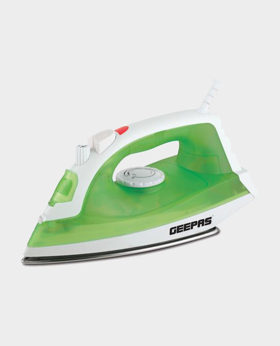 Geepas GSI7783 Steam Iron with Variable Temperature Control Green in Qatar