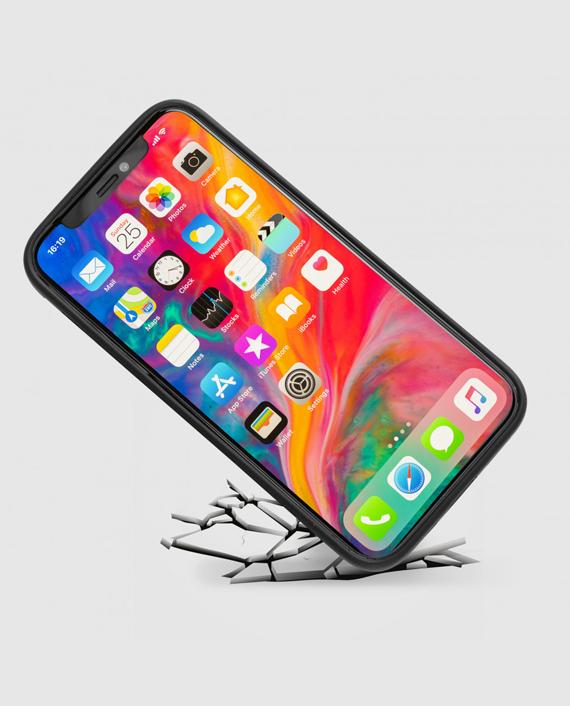 Gold Black iPhone 12/12 Pro Slim Case