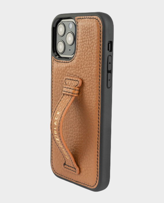 Gold Black iPhone 12/12 Pro Finger Holder Case