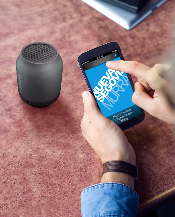 Philips BT50B 00 Wireless Portable Speaker