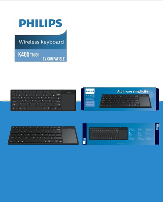 Philips K405 Wireless keyboard with Touchpad
