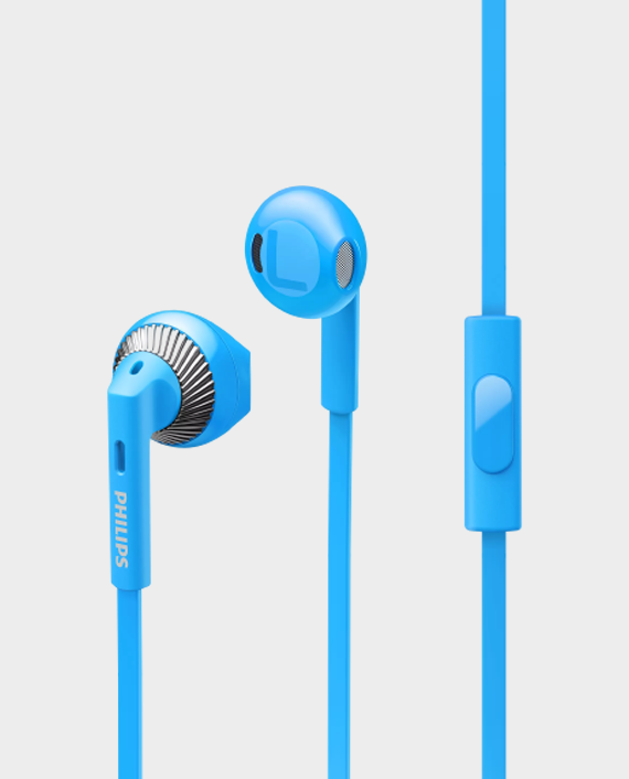 Philips SHE3205BL00 In-Ear Headphones with Microphone Blue in Qatar