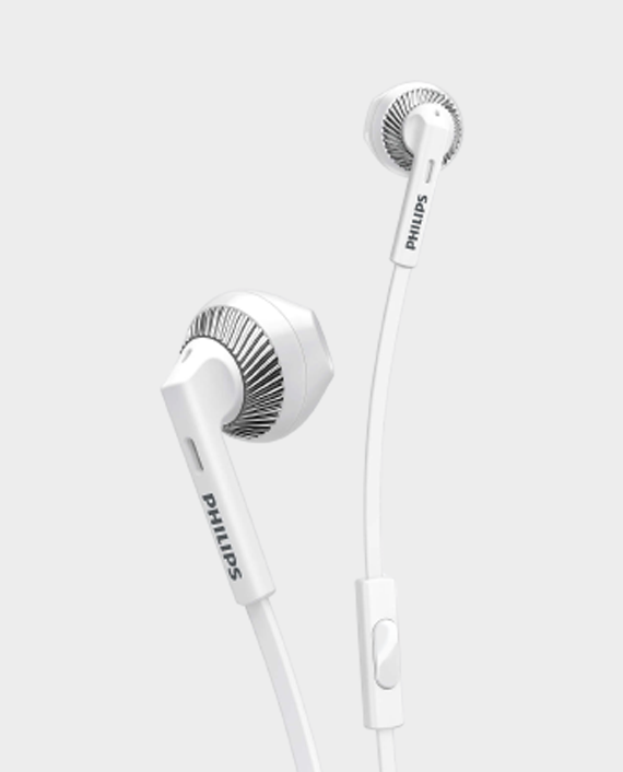 Philips SHE3205WT-00 in-Ear Headphones with Mic White in Qatar