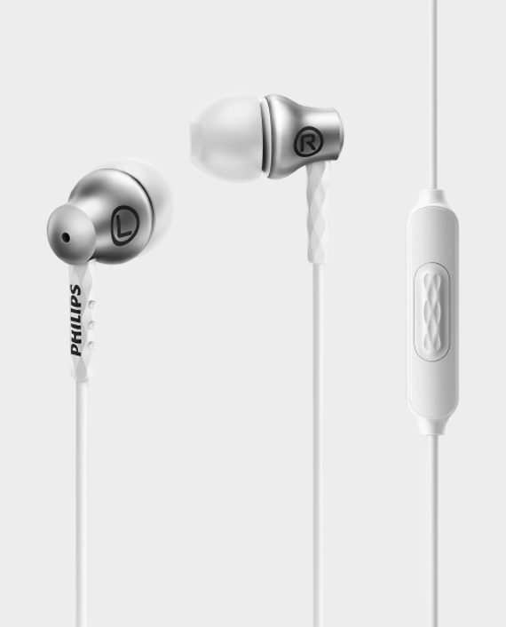 Philips SHE8105SL In Ear Headphones with Mic Silver in Qatar