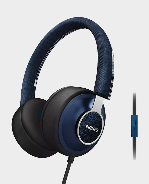 Philips SHL5605BL CitiScape Downtown Headband Headphones with Mic Blue in Qatar