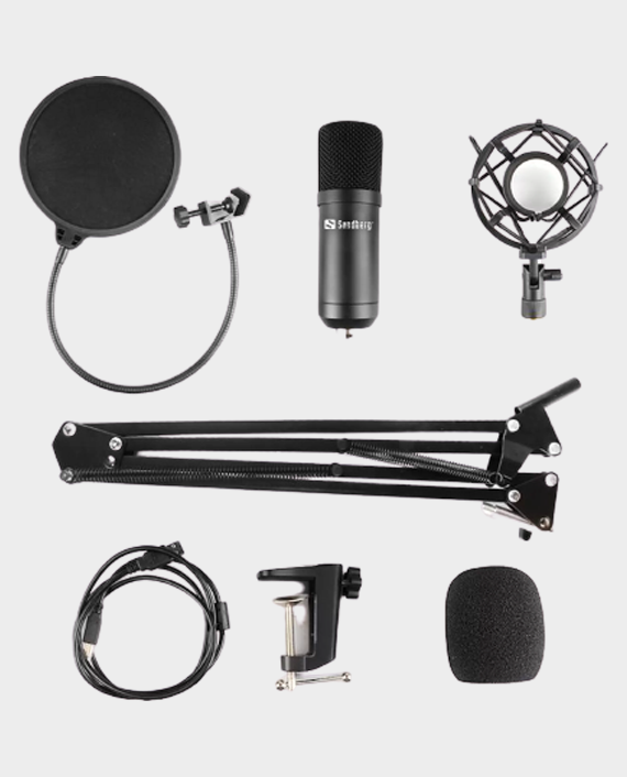 Sandberg 126-07 Streamer USB Microphone Kit