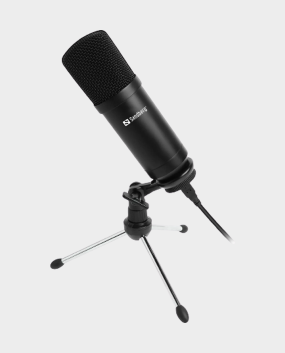 Sandberg 126-09 Streamer USB Desk Microphone in Qatar