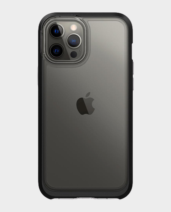 Spigen iPhone 12/12 Pro Crystal Hybrid Matte Black in Qatar