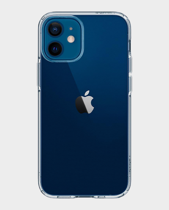 Spigen iPhone 12 Crystal Flex Crystal Clear in Qatar