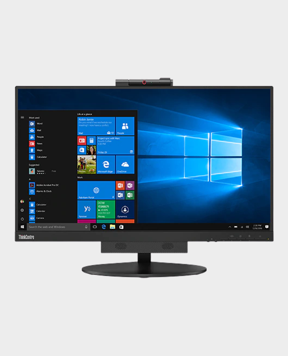 "Lenovo ThinkCentre - TIO-22 / 10R0PAT1UK / Gen 3 21.5"" Borderless 10 pts Touch WLED Monitor in Qatar"