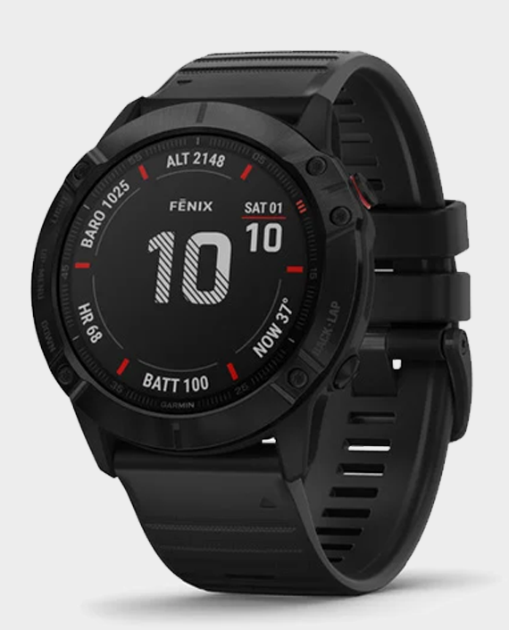 Garmin Fenix 6X Pro Smart Watch Black in Qatar