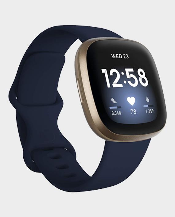 Fitbit Versa 3 GPS Midnight Blue/Gold in Qatar