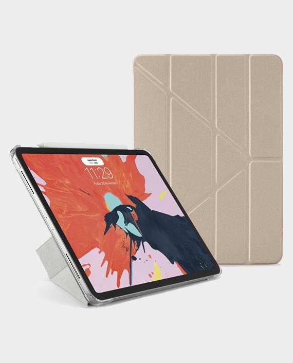Pipetto iPad Pro 11 (2020) Metallic Origami Case Rose Gold in Qatar