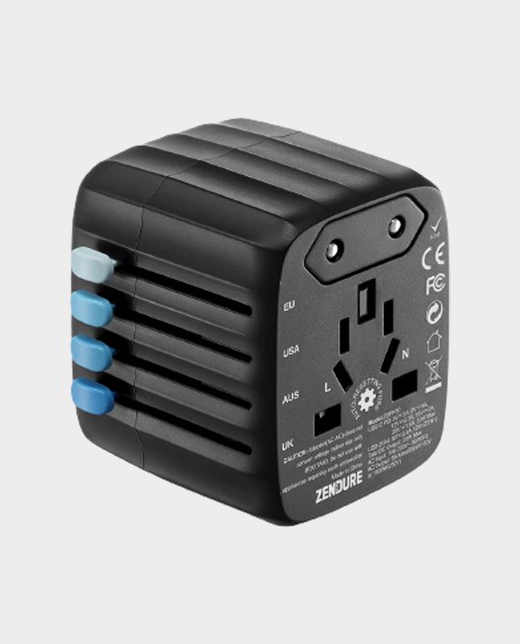 Zendure Passport 30W All in One Travel Adapter Black