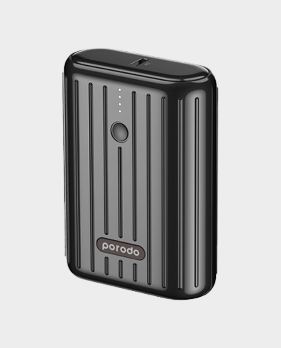 Porodo Ultra Compact PD & QC Power Bank 10000mAh in Qatar