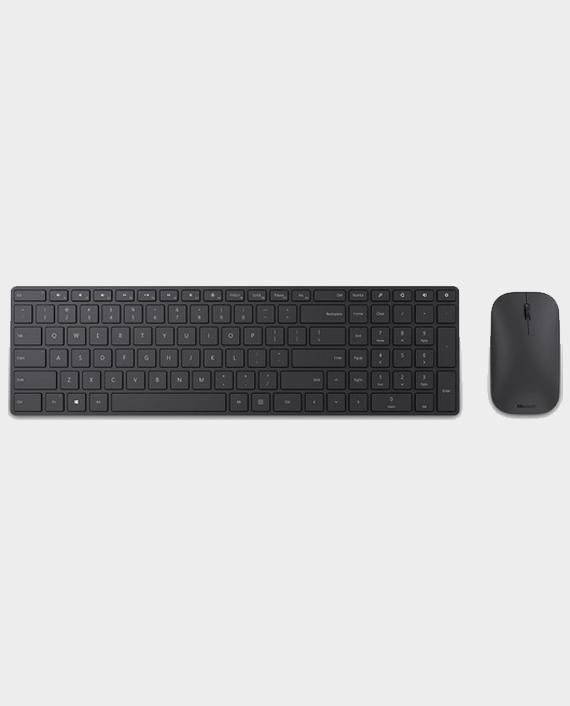 Microsoft 7N9-00019 Bluetooth 4.0 Blue Track Technology Keyboard & Mouse in Qatar