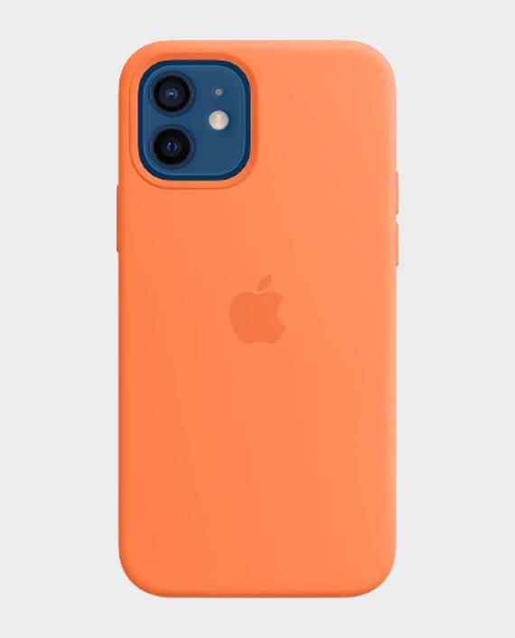 Apple iPhone 12/12 Pro Magsafe Silicone Case Kumquat in Qatar