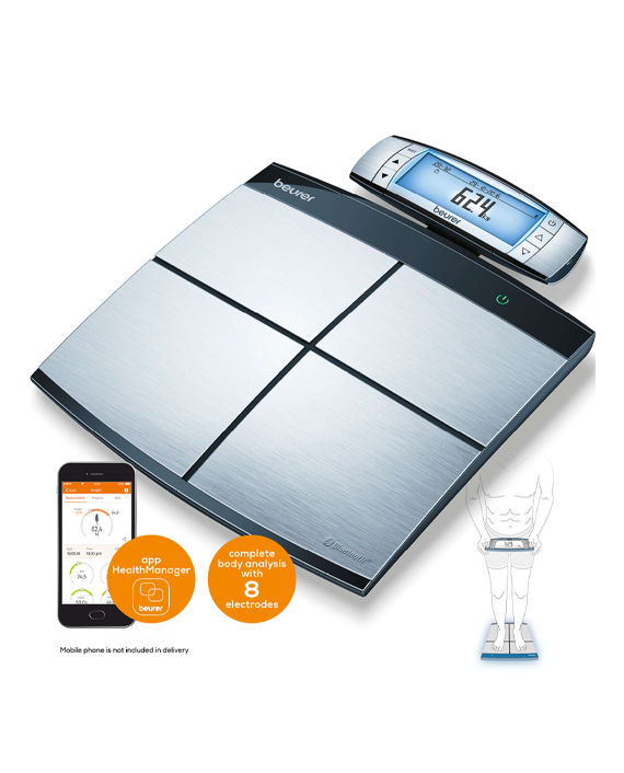 Buy Beurer BF 105 Body Complete Diagnostic Bathroom Scale ...