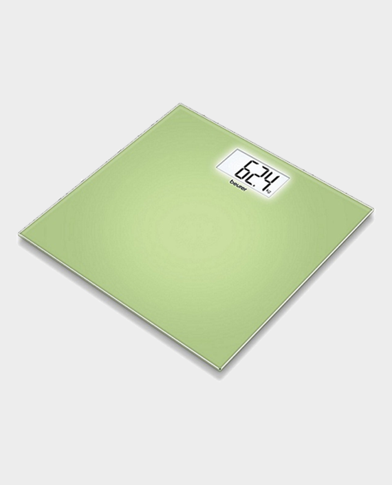 Beurer GS208 Glass Weighing Scale Green in Qatar