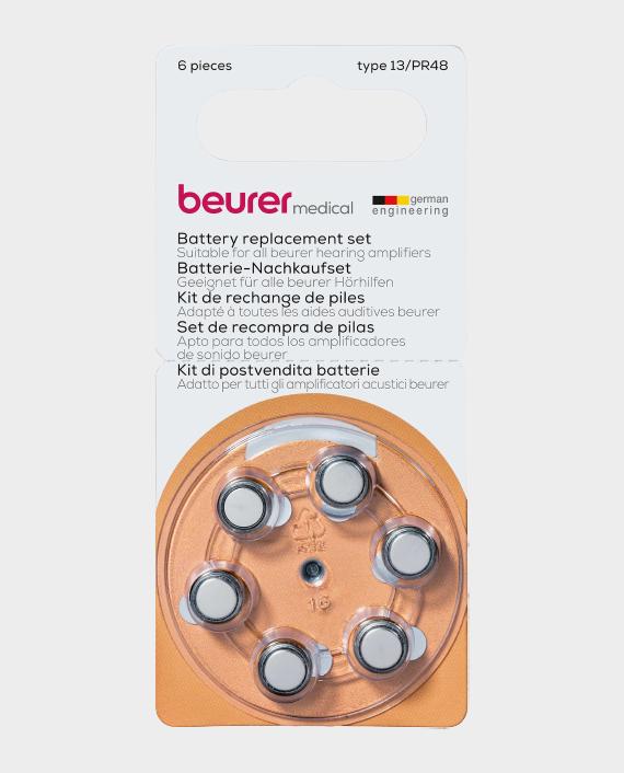 Beurer HA 20 HA 50 Battery Replacement Set For Hearing Amplifier in Qatar