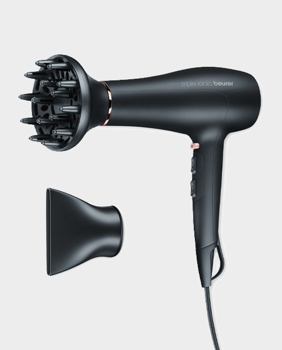 Beurer HS 30 Hair Straightner + Beurer HC 50 Hair Dryer
