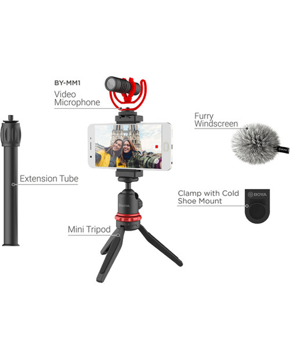Boya BY-VG330 Smartphone Vlogger Kit