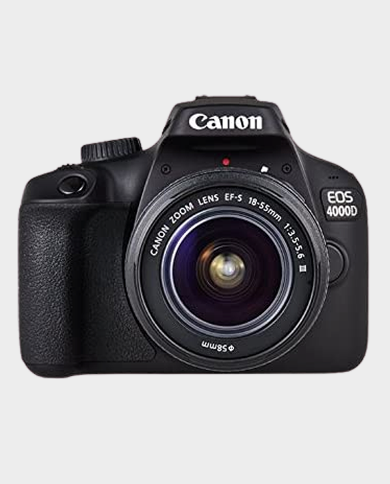 Canon EOS 4000D Kit + EF-S 18-55 DC III in Qatar