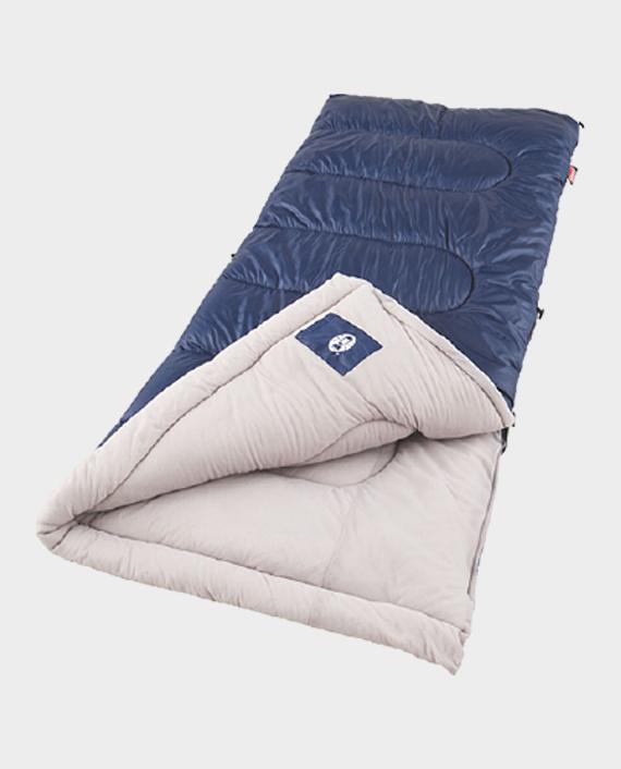 Coleman 2000004419 Brazos Rectangular Sleeping Bag Blue/White in Qatar