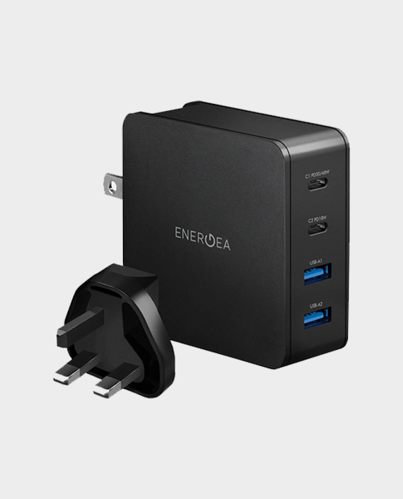Energea Travel Lite PD66 Dual USB-C Power Delivery Travel Charger in Qatar