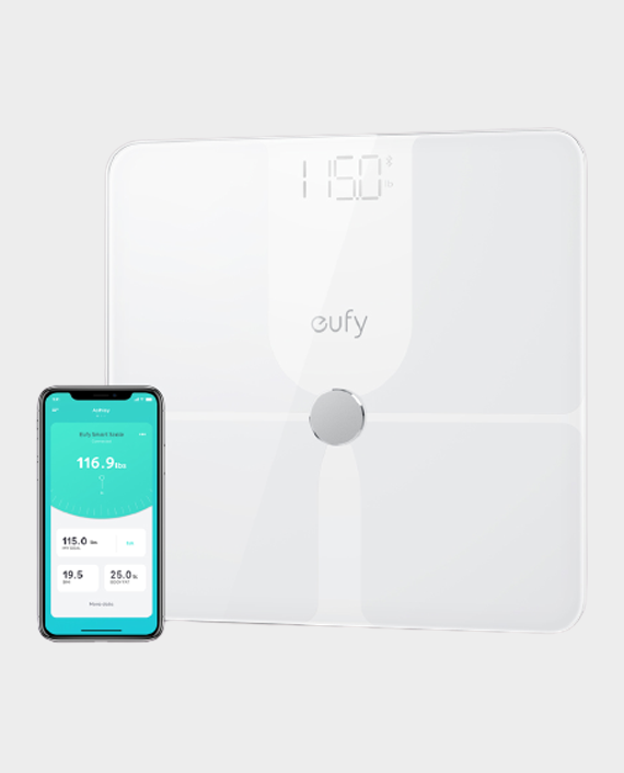 Eufy By Anker Smart Scale P1 with Bluetooth White in Qatar