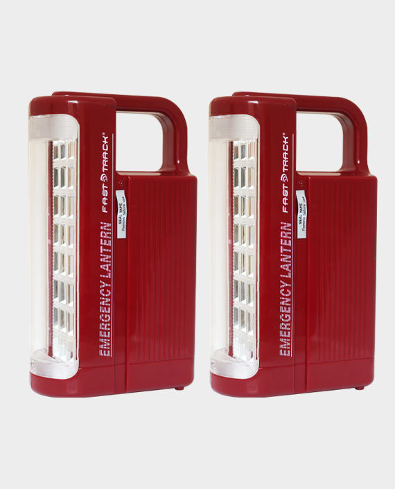 Fast Track FT-9010 LED Emergency Light 2 Pieces in Qatar