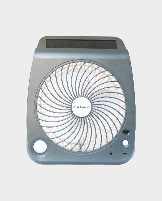Fast Track FT-999 Rechargeable Fan Grey in Qatar