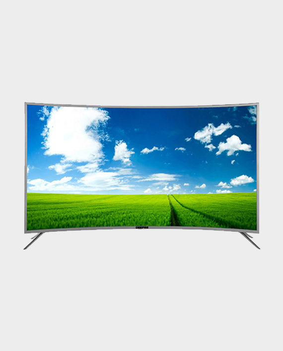 Geepas GLED5502CSFHD 55-inch Curved Smart Full HD LED TV in Qatar
