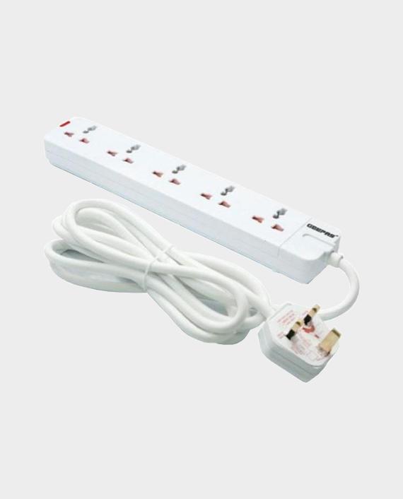 Geepas GES58013 5 Way Extension Socket in Qatar