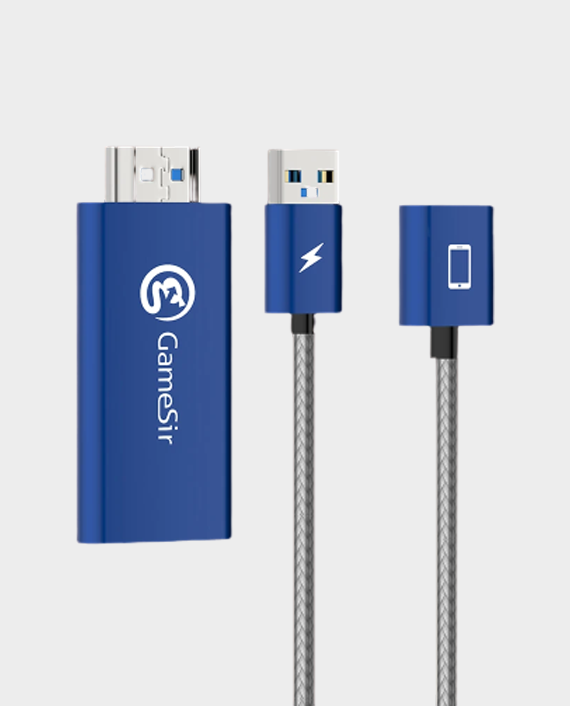 GameSir GTV100 HDMI Display Adapter Cable for iPhone / iPad in Qatar