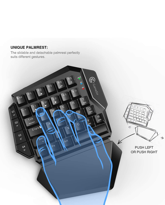 GameSir VX Aimswitch Gaming Keypad and Mouse