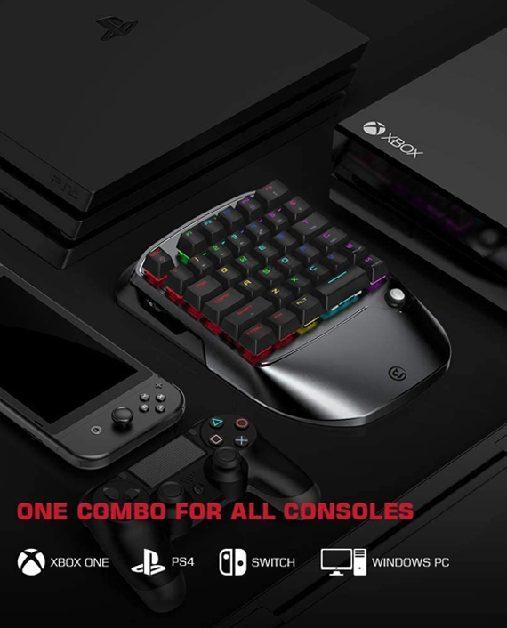 GameSir VX2 AimSwitch Gaming Keypad and Mouse