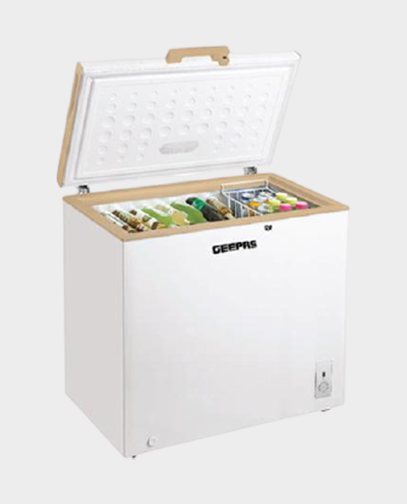 Geepas GCF2506WAH 250 Litre Chest Freezer
